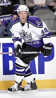 Matt Ryan is the first former CHA player to hit the ice in the NHL (photo: Los Angeles Kings).