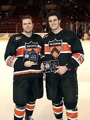 Brett and Kevin Westgarth were named to the All-Tournament team out in the Rockies (photo: Paul Carthas).
