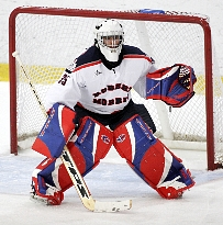 Christian Boucher has been a one-man force in net for Robert Morris in its brief Division I history (photo: Robert Morris University).