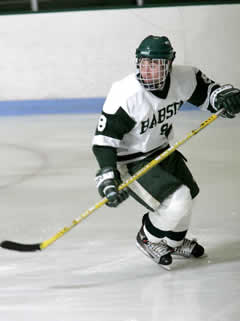 Junior captain John Geverd leads a young Babson team in search of an ECAC title.