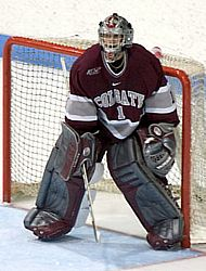 Mark Dekanich and Colgate look to move up the ECACHL ladder this season.