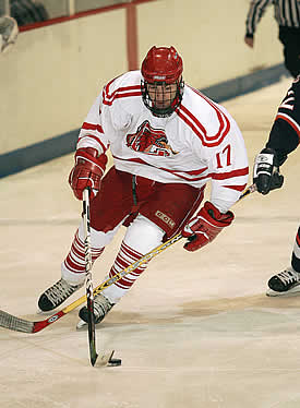 Cortland's Buddy Anderson notched a goal on a penalty shot against Brockport. (photo: Darl Zehr Photography)