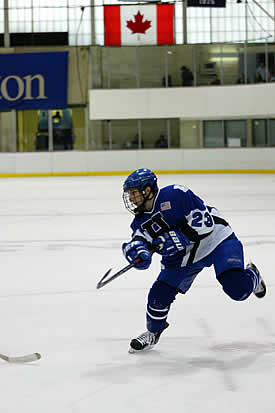 Senior captain Casey Deak has helped the Continentals off to a good start with three key goals in his first two games.