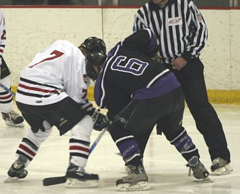 Skill on faceoffs might not get noticed in tryouts (photos: Karyn Hendrickson).