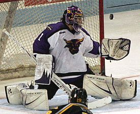 Mike Zacharias had the lion's share of the work in net in 2006-07 for the Mavericks (photo: Ryan Coleman).