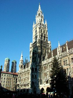 Sightseeing in Munich, Germany, not far from the first game of Wesleyan's European tour (photos: Nicole Hendrickson).