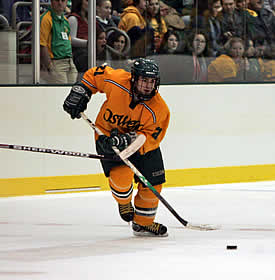 Brendan McLaughlin is one of three sophomores accounting for 31 goals for the Lakers.  (photo: Chuck Wainwright/Oswego State Athletics)