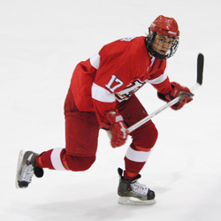 All-Rookie Pier-Luc Belanger is a key part of Plattsburgh's late-season success. (photo: Angelo Lisuzzo)