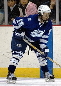 Shaun Arvai co-captains the Chargers this season (photo: Alabama-Huntsville sports information).