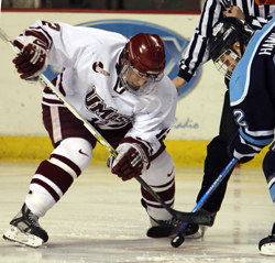 Cory Quirk scored 31 points last season as UMass reached the NCAA tournament (photo: Karen Winger).