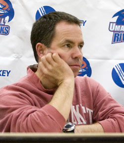 Blaise MacDonald and the River Hawks are looking to put a difficult year behind them (photo: Melissa Wade).