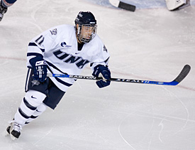 Jerry Pollastrone brings his Boston roots and swagger to the Wildcats' second line.