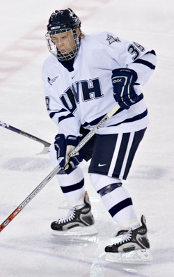 Matt Fornataro dishes the puck to his linemates, to the tune of 18 assists through the season's first 21 games.