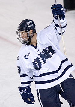 Trevor Smith and New Hampshire pay a visit to Ralph Engelstad Arena next season.