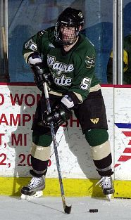 Taylor Donohoe made the trek from western Canada to play for Wayne State (photo: Mark Hicks / WestSide Photography).