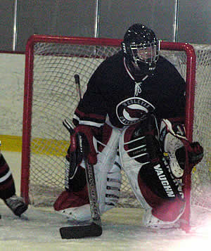 Cardinal goalie Dave Scardella will be looking to remain at the top of his game and backstop Wesleyan into a higher playoff seeding.