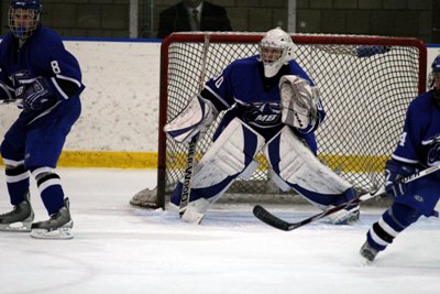 Beacons sophomore Ryan Donovan goalie will need to be exceptionally sharp to unseat the Cadets at home.