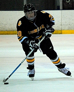 Adrian freshman forward Shawn Skelly leads the MCHA, and nation, in scoring this season.