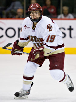 Last season was a lost one for Boston College's Brock Bradford, but the Eagles are looking to him again this year (photo: Melissa Wade).