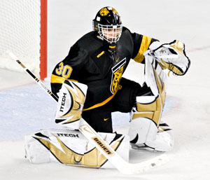 Richard Bachman of Colorado College is the HCA National Rookie of the Year (photo: Melissa Wade).