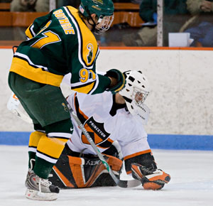 Shea Guthrie will be counted upon for more this season for Clarkson (photo: Melissa Wade).