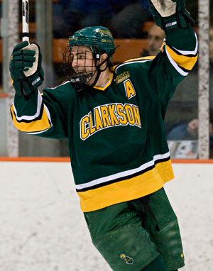 Steve Zalewski and Clarkson aren't out of the woods yet (photo: Melissa Wade).