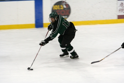 Leading scorer Brandon Heck leads the red-hot Castleton Spartans in their first home playoff game.