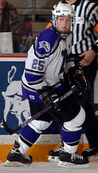 Ted Cook racked up 48 points for the Purple Eagles in 2006-07 (photo: Niagara University).