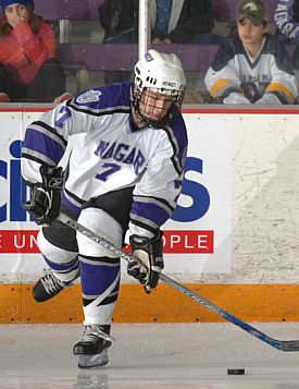 Tyler Gotto has become a man for all situations for Niagara (photo: Niagara media relations).