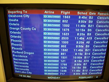 You can't get there from here -- or at least, not back to Omaha from Chicago (photo: Matthew Semisch).