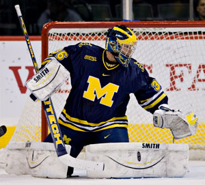 Billy Sauer has stepped up for Michigan this season (photo: Melissa Wade).