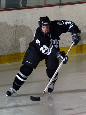 Senior Mike Westerman leads the Polar Bears against arch rival Colby this weekend.