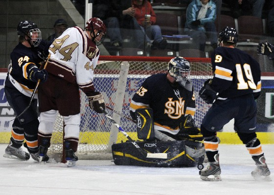 Norwich defenseman Eric Tallent has been a key to the potent Cadet power play this season.