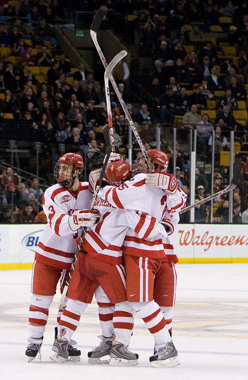 Boston University will be the overall number one seed in the 2009 Division I Tournament. (photo:  Melissa Wade)