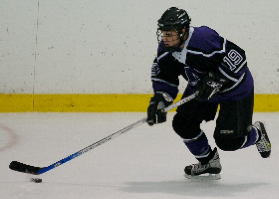 Senior Joel Covelli is the offensive leader for the Amherst Lord Jeffs.