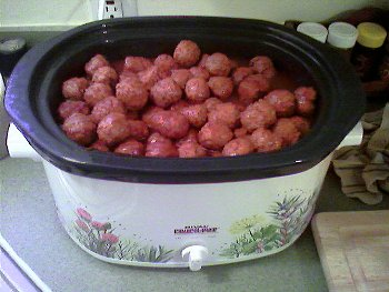 If it's Thanksgiving at the Mackinder residence, you can bet that meatballs are on the menu.
