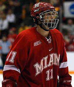 Carter Camper has three goals in four games this season for Miami (photo: Tim Brule).