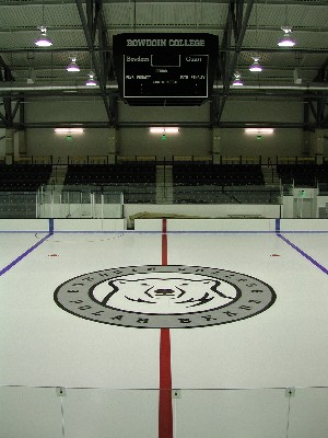 It's out with the old (Dayton Arena) and in with the new Watson Arena at Bowdoin this weekend (photo: Tim Costello).