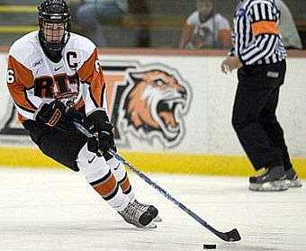 Dan Ringwald and RIT are in position to claim the Atlantic Hockey regular-season title at home this weekend.