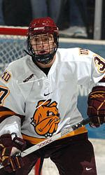 Justin Fontaine and Minnesota-Duluth have a lot of expectations to meet this season (photo: Minnesota-Duluth Athletics).