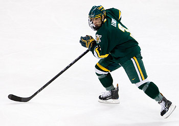 Peter Lenes' strong weekend helped Vermont take three of four points from Boston College (photo: Melissa Wade).