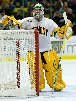 Rob Madore and Vermont take on top overall seed Boston University Thursday night (photo: Melissa Wade).