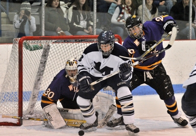 Forward Ken Suchoski has added to Middlebury's scoring balance and depth (photo: Trent Campbell).