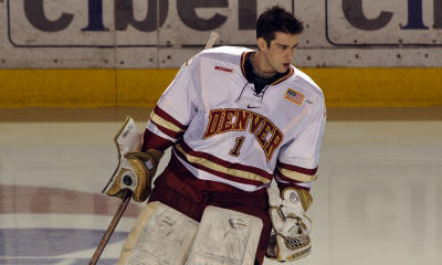 Denver goalie Marc Cheverie posted four shutouts in his first 10 games this season.