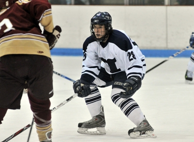 After a two year absence, Ken Suchoski and his Middlebury teammates are in search of a 9th NCAA title (photo: Trent Campbell).