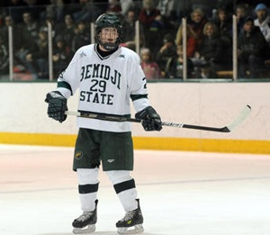 Sophomore Brad Hunt is expected to anchor a solid Bemidji State defense this season (photo: BSU Photo Services).