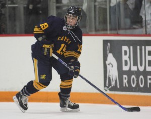 Cory Conacher has reached the 20-goal plateau as a junior, and the Canisius winger is being mentioned as a Hobey Baker Award candidate (photo: Canisius Athletics).