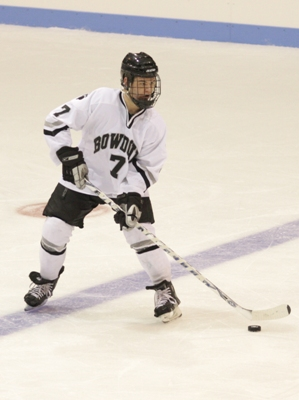 Bowdoin scoring leader Kyle Shearer-Hardy leads his team into a tough quarterfinal match-up at Oswego (photo: Tim Costello).