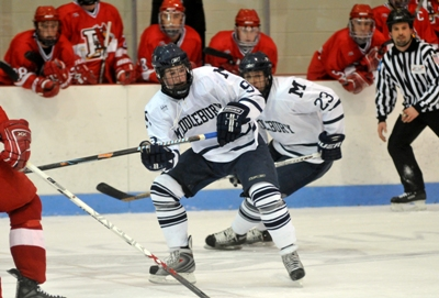 Senior captain John Sullivan leads a young Panther squad looking to play in their 11th consecutive NESCAC title game (photo: Tim Costello).