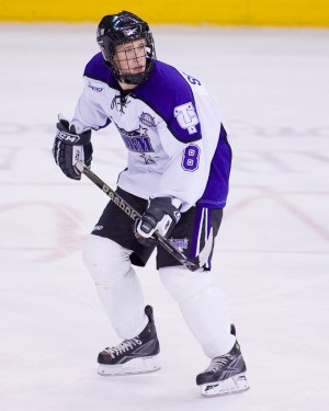 Jaden Schwartz is headed to Colorado College in the fall (photo: USHL Images).
